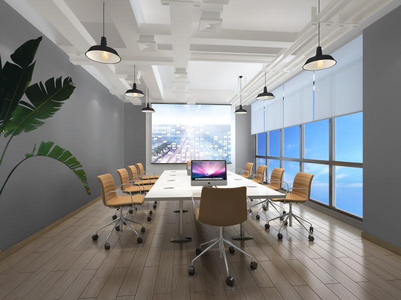 南山互联网公司办公室装修