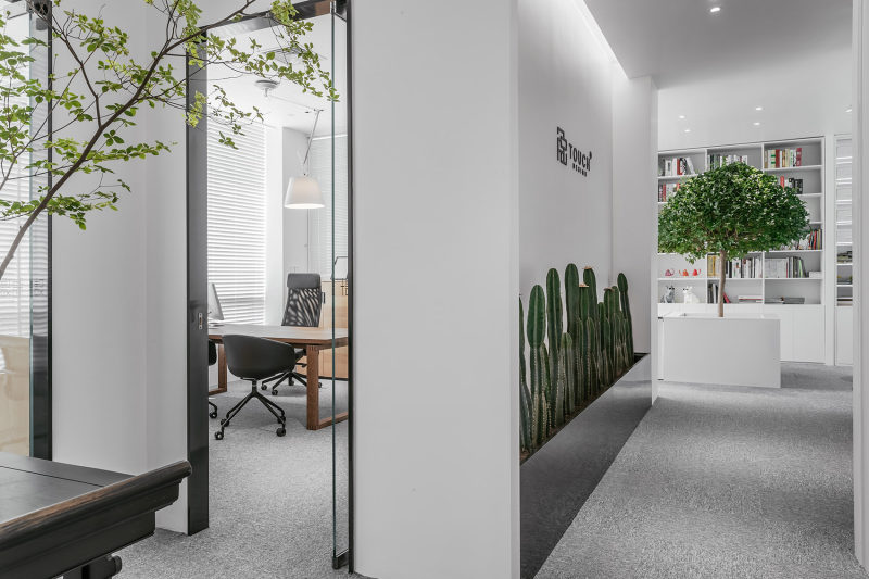 南山设计公司办公室装修
