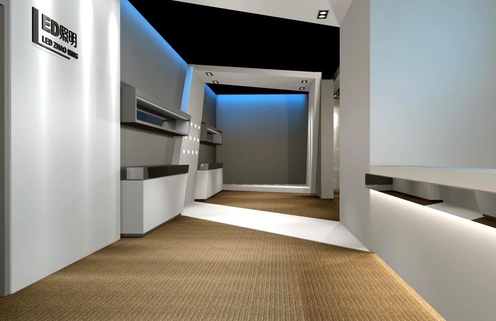 南山企业照明产品展厅装修